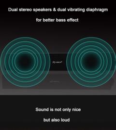 Soundbar sound bar draadloos bluetooth wireless speaker 20W 2x 10W