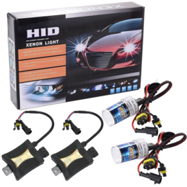 Xenon kit set verlichting H7 6000K 55W + ballast HID slim can bus