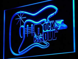 RockNRoll neon bord lamp LED 3D cafe verlichting reclame lichtbak