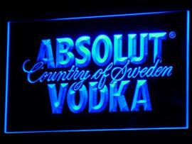 Absolut Vodka neon bord lamp LED 3D verlichting reclame lichtbak