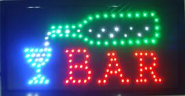Bar drank cafe LED bord lamp verlichting lichtbak reclamebord #barG