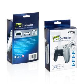 Cover case playstation 5 PS5 controller transparant doorzichtig
