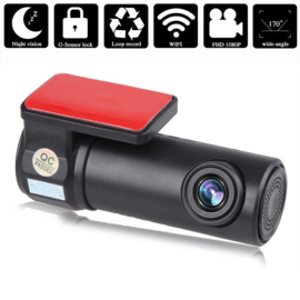 Dashboardcamera nachtzicht dash cam dashcam + WIFI FULL HD