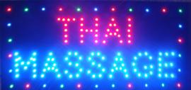 Thaise Massage LED bord lamp verlichting lichtbak reclamebord #D
