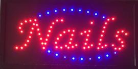 Nagels LED bord lamp verlichting nagel studio reclamebord #1738