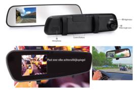 Dashcam achteruitkijkspiegel spiegel camera binnenspeigel Full HD 1080P