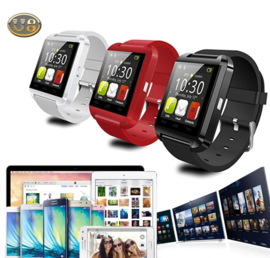 Smartwatch Smart Watch Bluetooth Sim horloge android IOS *3 kleuren* #1