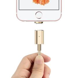 Magnetisch Iphone 5 6 7 8 X 10 oplaad kabel oplader ipad usb gevlochten