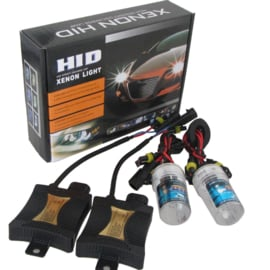 Xenon kit set verlichting H1 6000K 55W + ballast HID slim can bus
