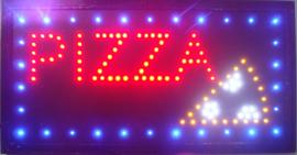 PIZZA LED bord lamp verlichting lichtbak reclamebord #B8