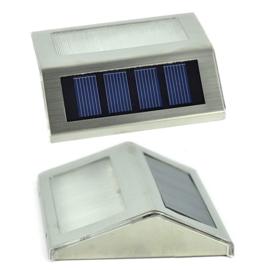 Led solar buitenlamp buiten tuin hang lamp + zonnepaneel RVS
