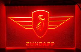 Zundapp neon bord lamp LED 3D cafe verlichting reclame lichtbak