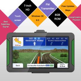 Navigatie 7 inch auto GPS touchscreen 8GB Full HD USB *Europa*