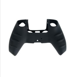 Silicone hoes skin case cover voor PS5 playstation 5 controller *zwart*