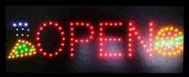 OPEN lamp LED verlichting reclame bord lichtbak #B1