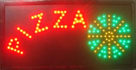 PIZZA LED bord lamp verlichting lichtbak reclamebord #B2