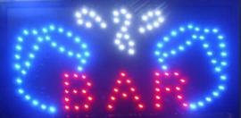Bar drank cafe LED bord lamp verlichting lichtbak reclamebord #C13