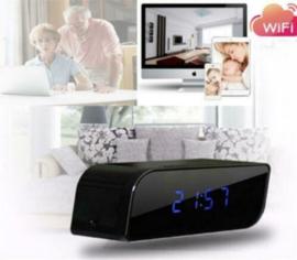 Wifi spy cam klok wekker camera IR nachtzicht FullHD + APP *rechthoek*