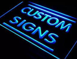 Op maat gemaakt - eigen ontwerp- LED neon bord *40x30cm* kleur naar keuze