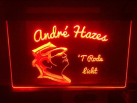 Andre Hazes neon bord lamp LED 3D cafe verlichting reclame lichtbak