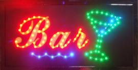 Bar drank cafe LED bord lamp verlichting lichtbak reclamebord #barD