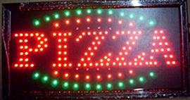 PIZZA LED bord lamp verlichting lichtbak reclamebord #B3