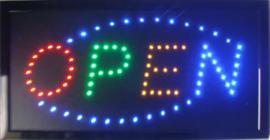 OPEN LED bord lamp verlichting lichtbak reclamebord #C1