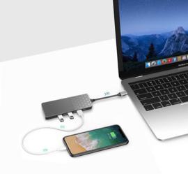 USB C adapter hub macbook pro air ethernet LAN USB 3.0 SD