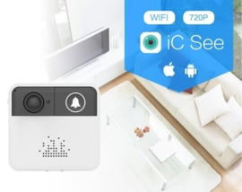Wifi deurbel intercom video camera deur bel draadloos ring + CHIME + APP