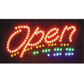 OPEN LED bord lamp verlichting lichtbak reclamebord #B2