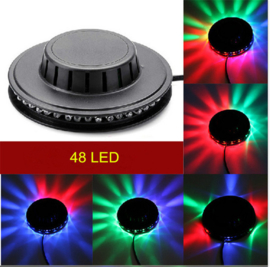 Disco bal bol verlichting licht LED lamp flower RGB 360 graden
