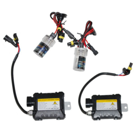 Xenon kit set verlichting H11 10000K 55W + ballast HID slim can bus