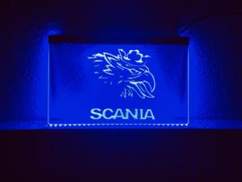 Scania neon bord lamp LED verlichting reclame lichtbak vrachtwagen #2
