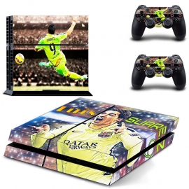 72 Sticker skin wrap ps4 stickers playstation 4 + 2x controller