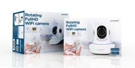 Wifi IP camera draadloos 355 graden FULLHD beveiligings pantilt + app Gembird