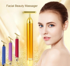 24K gold goud gezichtsmassage roller jade beauty bar jaderoller