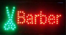 Barber kapper lamp LED verlichting reclame bord lichtbak #A4