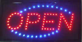 OPEN LED bord lamp verlichting lichtbak reclamebord #C2