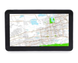 Navigatie 7 inch GPS Full HD + 8GB FM USB (IGO) *zwart*