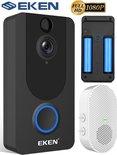 Wifi deurbel intercom video camera deur bel ring EKEN V7 + app