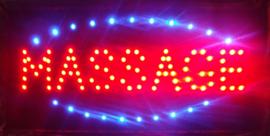 Massage LED bord lamp verlichting lichtbak reclamebord #C