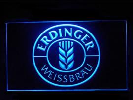 Erdinger neon bord lamp LED 3D cafe verlichting reclame lichtbak