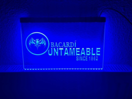 Bacardi neon bord lamp LED 3D cafe verlichting reclame lichtbak #3