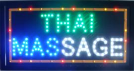 Thaise Massage LED bord lamp verlichting lichtbak reclamebord #J