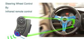 Autoradio + navigatie 7 inch 2 DIN bluetooth USB FM AUX + camera