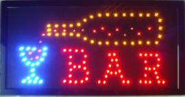 Bar drank cafe LED bord lamp verlichting lichtbak reclamebord #C1