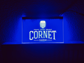 Cornet neon bord lamp LED 3D verlichting reclame lichtbak bier
