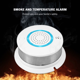 Wifi rook warmte melder rookmelder hittemelder app geen nest