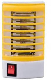 Elektrisch muggenlamp muggen lamp binnen stopcontact led stekker *geel*