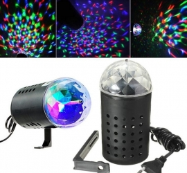 Disco lamp projector verlichting discolamp discobol LED 3W